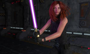 Mara Jade - Ataru guard by lyssophobe