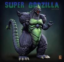 Super Godzilla SNES Japanese Version by Digiwip
