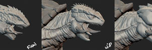 Gamera Alternate Concepts by Digiwip