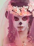 Blossom Skull by Kalamakia