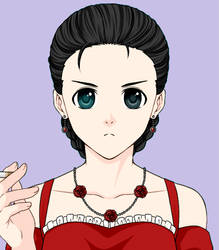 Toya's (former) mother - Karla by Silver-Fox-Princess