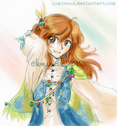 FF3 DS - Refia by lumineux