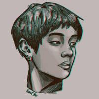 Practice: V by artbyren