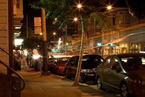 San Francisco at Night by Yiffyfox
