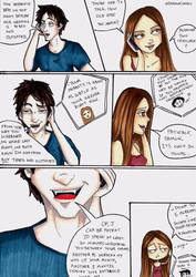 Comic Strip: 'Breaking Traditions' part 1 by DelenaComics