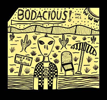 Bodacious! Cover Design by DadaNova