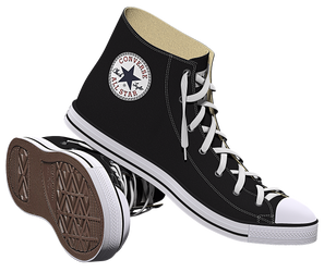 Zapato Converse by deiby-ybied