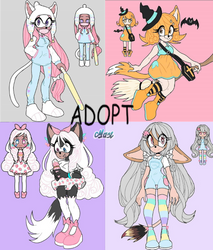 {SONIC ADOPT} OPEN by xMaX-ArtSx