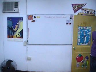 Inside Alex Classroom by remuko