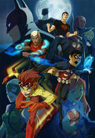 Young Justice by lychi