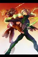 Speedster fight by lychi