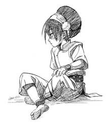 Toph sketch by lychi