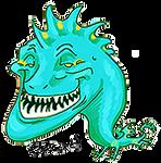 Dragon Troll by NakaseArt