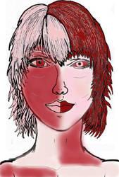 Female Hunab Ku human form by FPIaztec1995