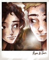 Leo's Polaroids: Piper and Jason by Dreamsoffools