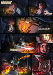 My little Doll - Comic page. by TheComicArtist