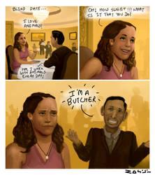 Joke Illustration #1 by TheComicArtist