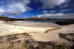 Pabbay Beach by paddimir