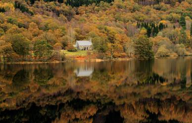 Loch Achray II by paddimir