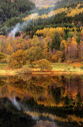 Loch Achray IV by paddimir