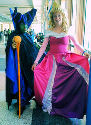 Maleficent and Aurora by AliceingJabberwocky