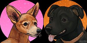 Pixel Portrait Commission   SpookyWonders by Nopeita
