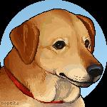 Pixel Portrait Commission   onlyhalfpigeon by Nopeita