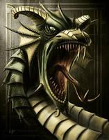 Emerald Dragon by Emortal982