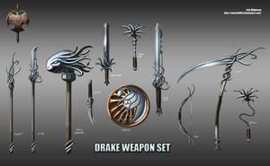 Drake weapon set by Emortal982