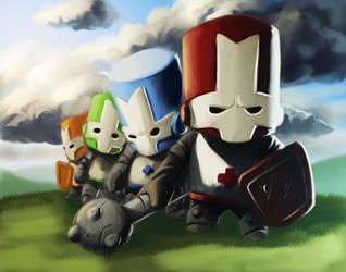 Castle Crashers by Emortal982