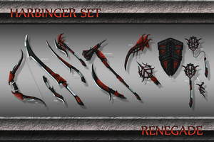 Harbinger Weapon Set by Emortal982