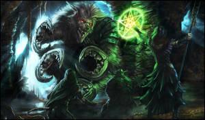 Demon Gnoll Attack by Emortal982