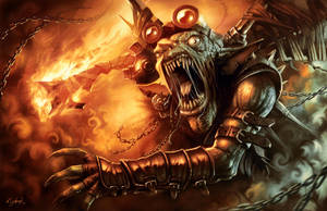 Goblin Striker by Emortal982