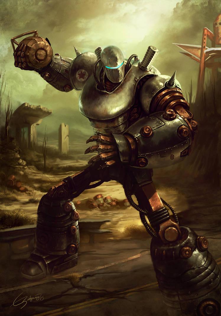 Fallout 3 Liberty Prime By Emortal982