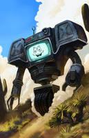 Fallout New Vegas: Yes Man by Emortal982