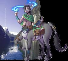 DnD - Elteres, Centaur Wizard by Spritedude