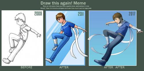 Draw this again! ...Again! by Spritedude