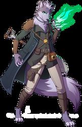DnD - Xehanort, Lupin Warlock by Spritedude