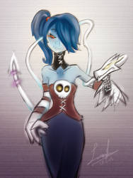 Squigly by franticlava