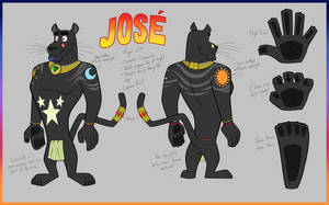 [Commission] Jose the Panther by BluMoonToons