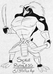 Timeless Cast (84/100): Sickle the Ruthless by BluMoonToons