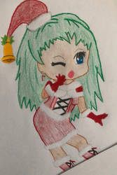 Chibi Peppermint shake by angeleyes1279