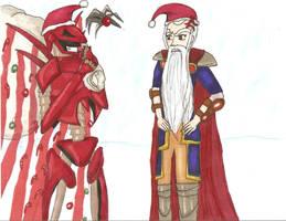 But I look more like Santa by yamieggman