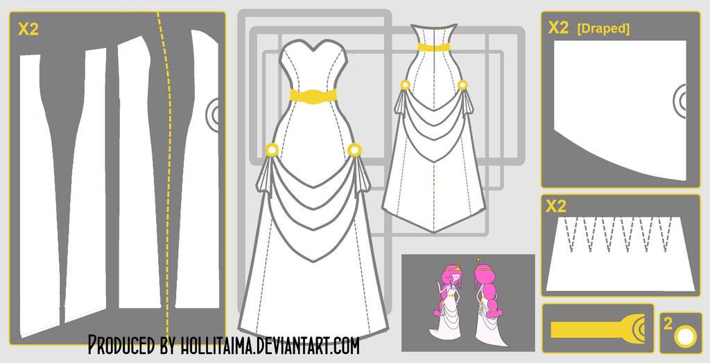 PB videomakers dress cosplay design draft by Hollitaima