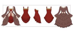 Kagamine Rin Dress w/ Dress Coat Profile by Hollitaima