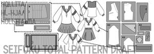 Pattern draft preview by Hollitaima
