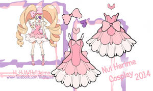 Nui Harime Cosplay Design Draft by Hollitaima