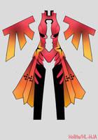 Inori Yuzuriha [Guilty Crown] Design Draft by Hollitaima