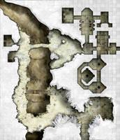 Arkay Salt caverns - Area 2 - Great Salt Cavern by dasomerville