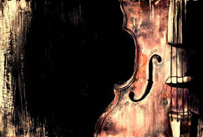Violin by Cat-Zombie